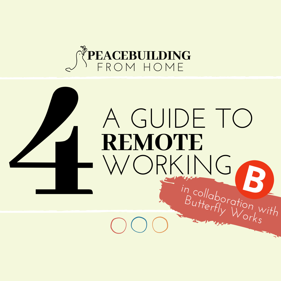 A GUIDE TO REMOTE WORKING