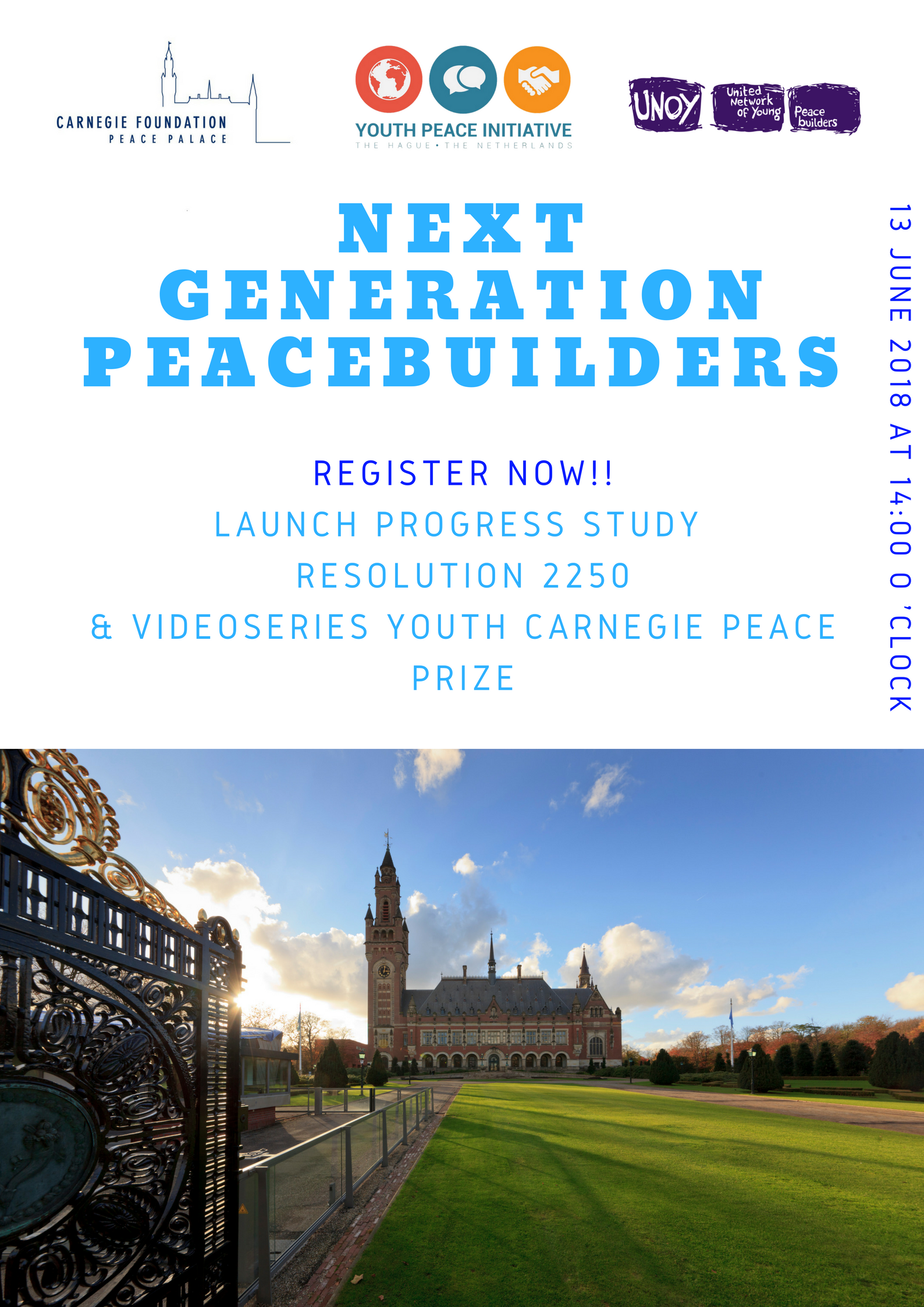 NEXT GENERATION PEACE BUILDERS VIDEO CONTEST/YOUTH CARNEGIE PEACE PRIZE