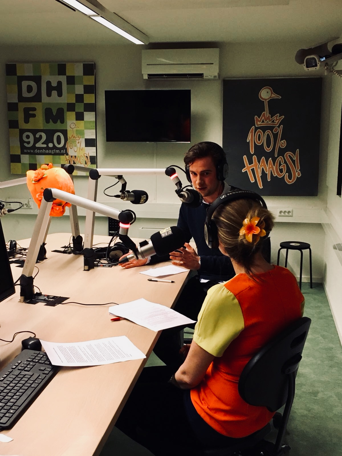 YPI CHAIR SPEAKS ON RADIO DUTCHBUZZ